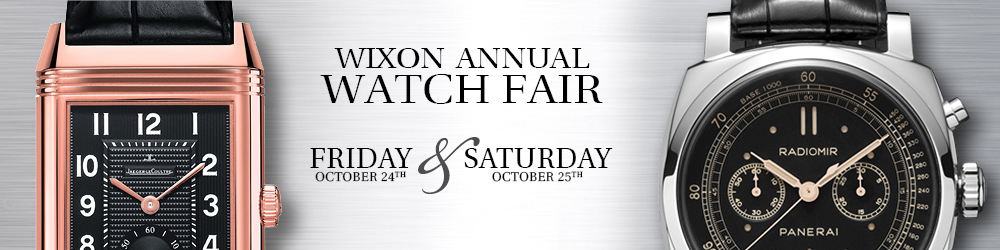 Wixon Jewelers' Watch Fair 2014