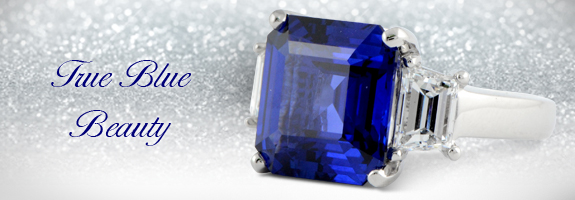 Custom Sapphire Ring by Wixon Jewelers