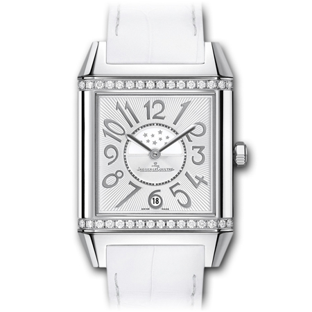 Jaeger LeCoultre Reverso Squadra with White Strap