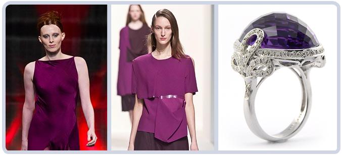 Purple Runway Jewelry Mauve Mist