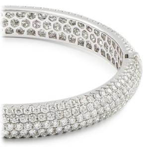 Pave Diamond Bangle