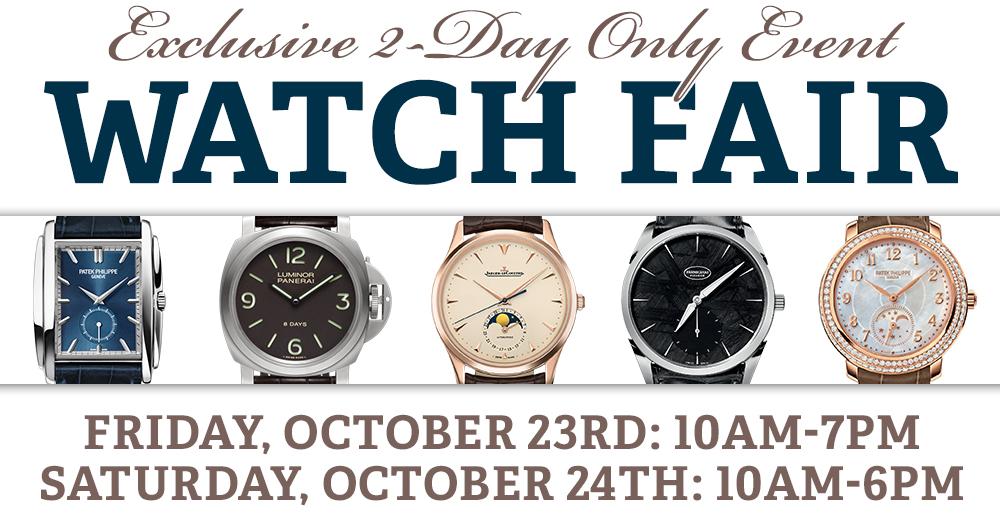 Wixon Jewelers' Watch Fair 2014