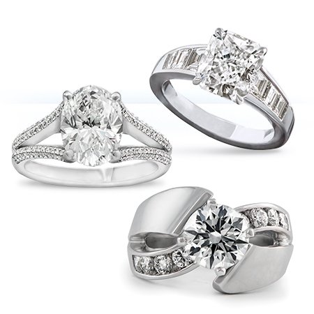 engagement rings wedding bands - Engagement Ring And Wedding Ring