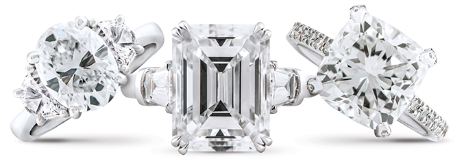 Wixon Jewelers Fancy Shape Diamonds