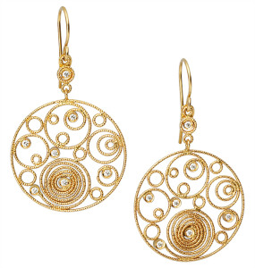 roberto-coin-gold-18k-yellow-gold-diamond-moresque-circle-earrings
