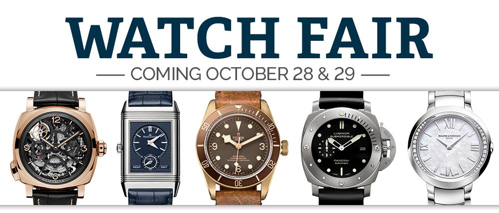 Wixon Jewelers Watch Fair 2016