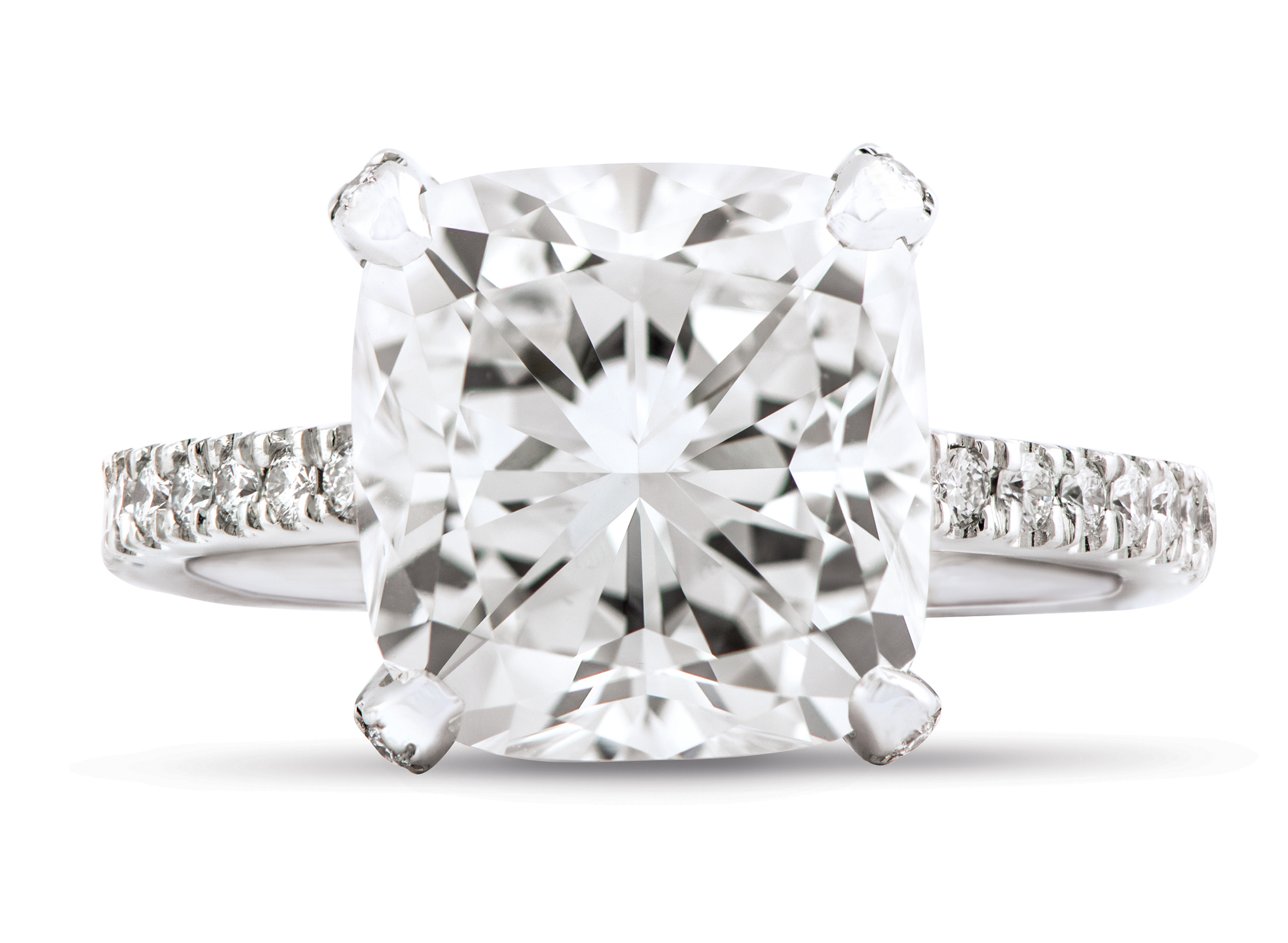 diamond ctw split square nei rounded halo products engagement center shank ring