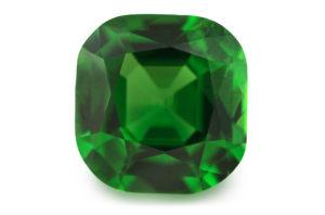 green tsavorite garnet gemstone