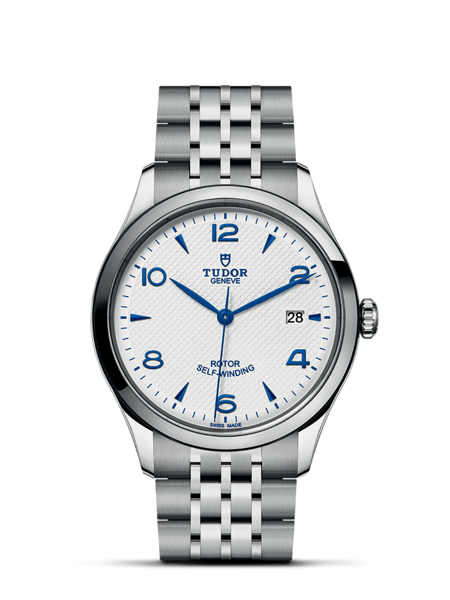 TUDOR 1926 white dial steel 39mm