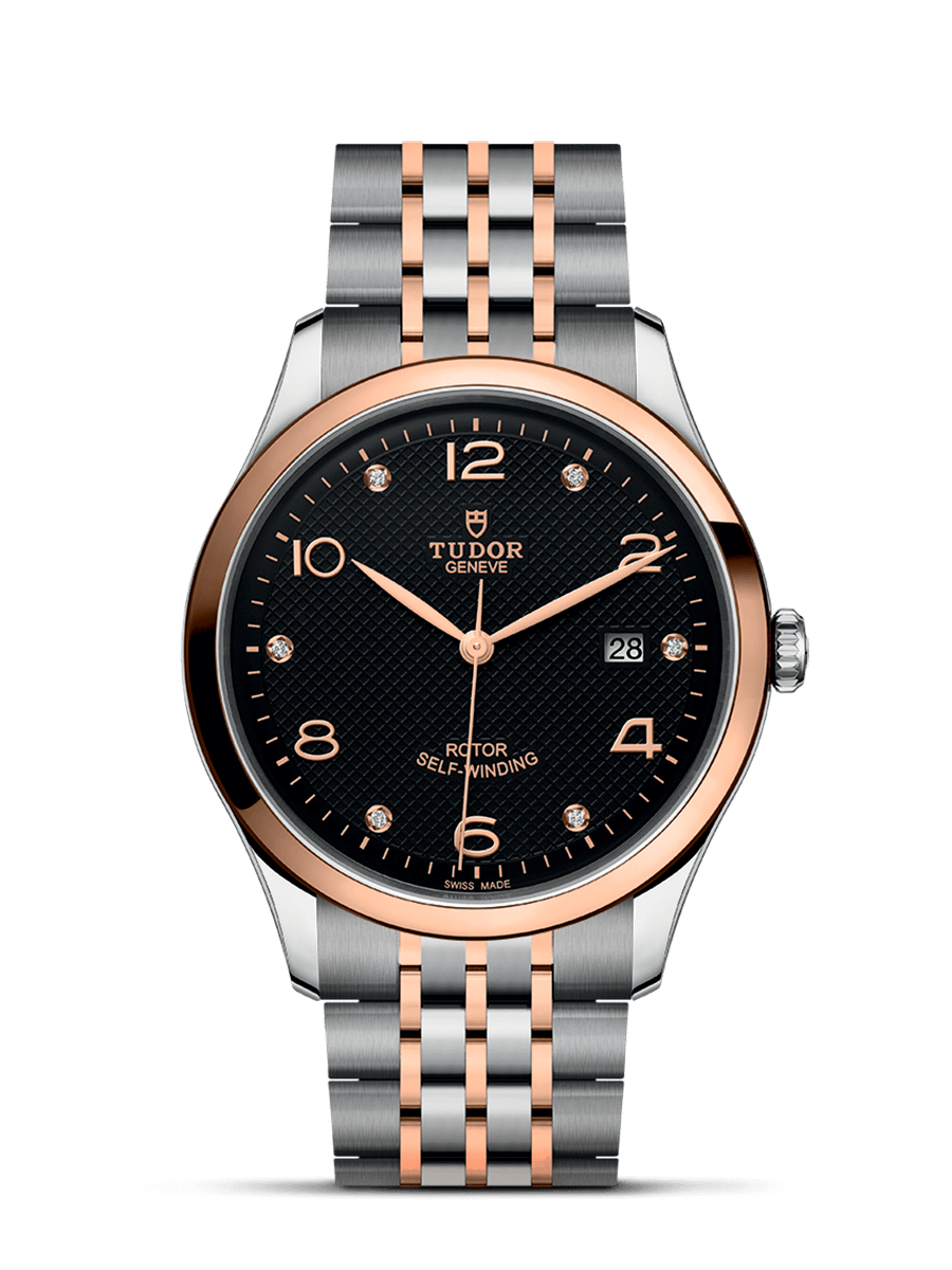 TUDOR 1926 rose gold and steel 41mm