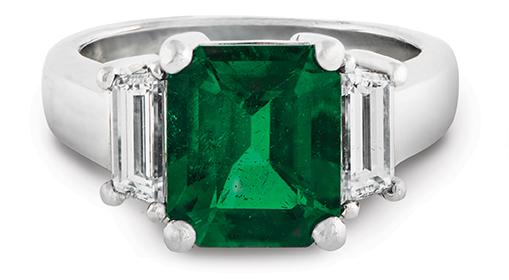 Wixon Custom Emerald Ring