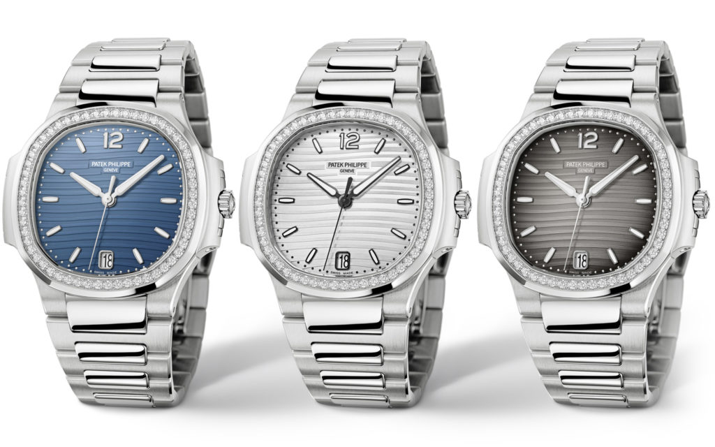 Patek Philippe Ladies Nautilus Collection (Ref. 7118) Diamond Bezel 2019 Baselworld