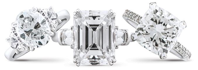Wixon Jewelers Fancy Shape Diamonds
