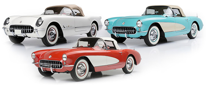 CHEVROLET CORVETTE CONVERTIBLES