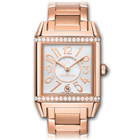 JLC Reverso Squadra Lady Duetto in Rose Gold