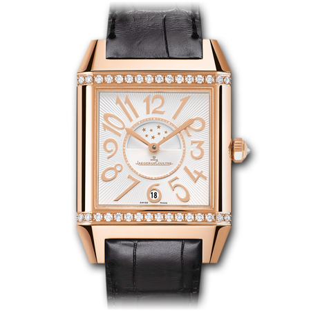 Jaeger LeCoultre Woman's Reverso in Pink Gold