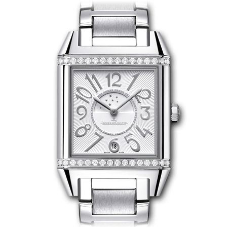 JLC Reverso Squadra Lady Duetto in Steel