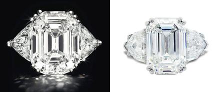 Rectangular Cut Diamond