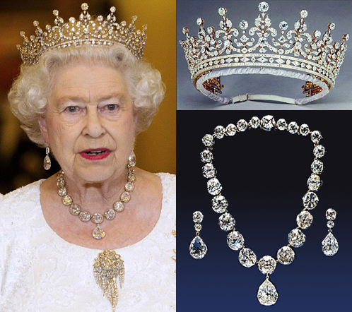 Queen Elizabeth Diamonds