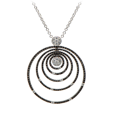 Roberto Coin Black Diamond Pendant