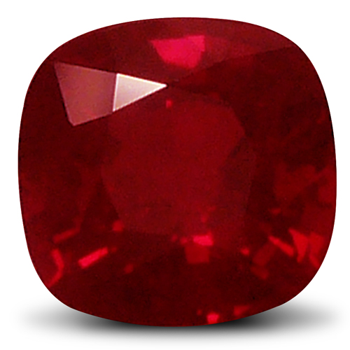 Unheated Burma Ruby Loose Gemstone