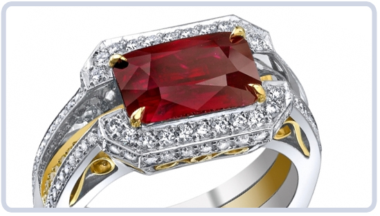 Ruby Gemstone Ring from Burma