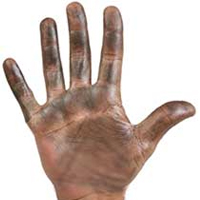 Dirty Hand without Jewelry