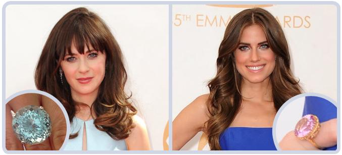 Celebrity Jewelry at 65th Emmy Awards