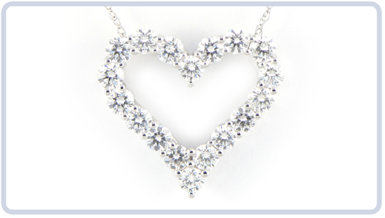 Heart Shaped Diamond Jewelry