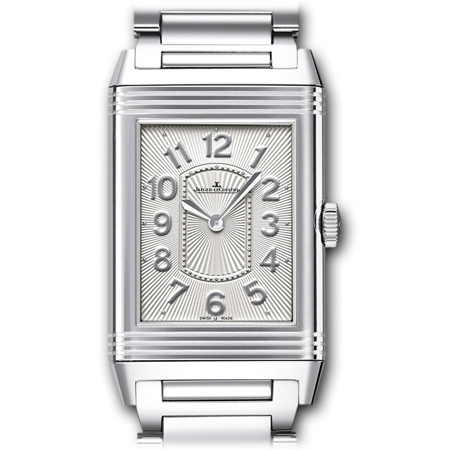 Jaeger LeCoultre Ladies Grande Reverso Steel Watch