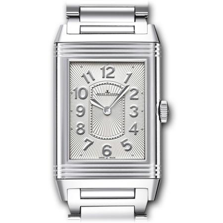 Jaeger LeCoultre Ladies Grande Reverso Steel Watch