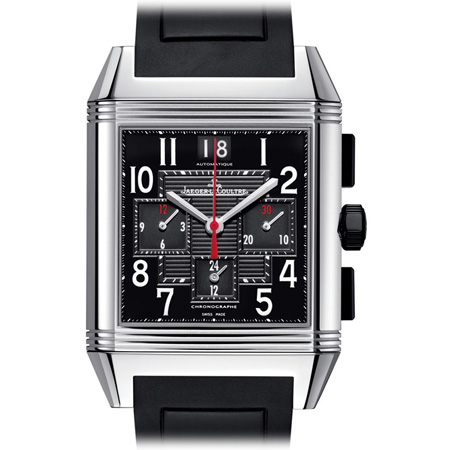 Reverso Squadra Chronograph GMT men's watch by Jaeger LeCoultre