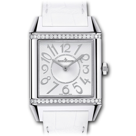 Jaeger Lecoultre Reverso Squandra Lady with White Strap