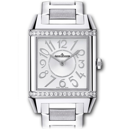 Jaeger Lecoultre Reverso Squandra Lady in Steel