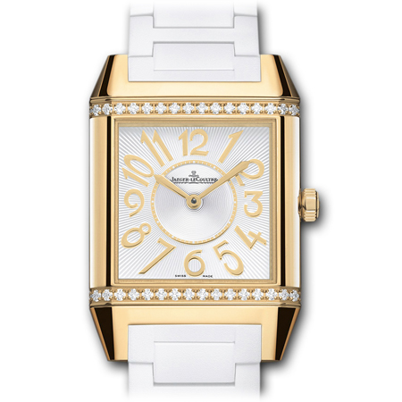 Jaeger Lecoultre Reverso Squandra Lady Yellow Gold