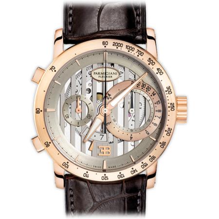 Parmigiani Fleurier Bugatti PFC335 Atalante Men's Watch in Rose Gold