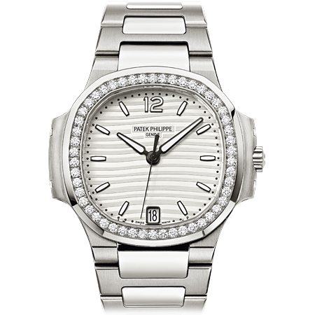 Patek Philippe 7018/1A Ladies Nautilus with White Dial