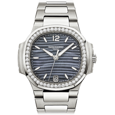 Patek Philippe 7018/1A Ladies Nautilus with Blue Dial