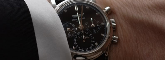 Patek Philippe with Business Suit