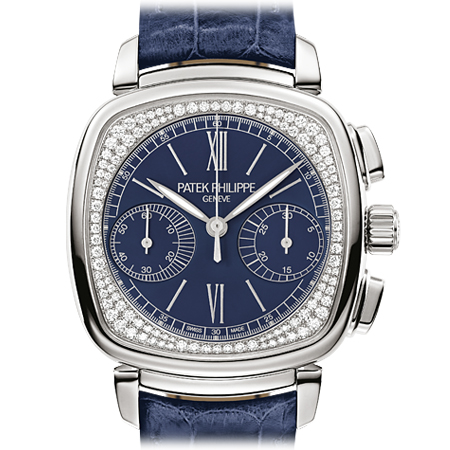 Patek Philippe Ref. 7072G Ladies Chronograph Watch