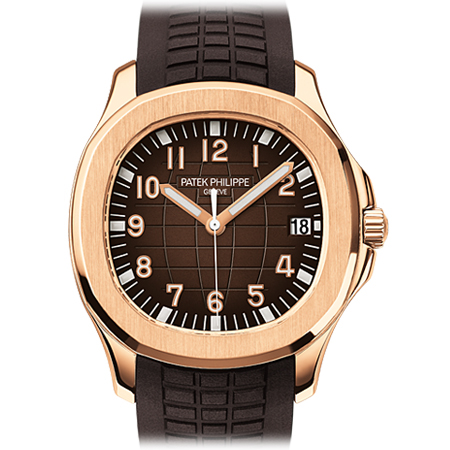 Patek Philippe Men's Aquanaut in Rose Gold