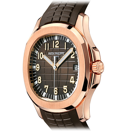 Patek Philippe Aquanaut in Rose Gold