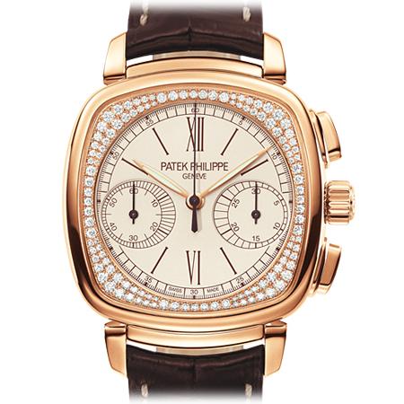 Patek Philippe Ref. 7072R Ladies Chronograph Watch