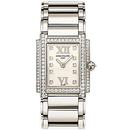 Patek Twenty4 Ladies Watch in White Gold