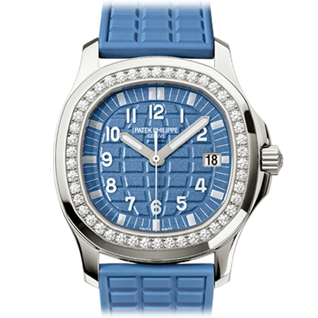 Patek Philippe Ref. 5067 Ladies Aquanaut in Blue from Baselworld 2013