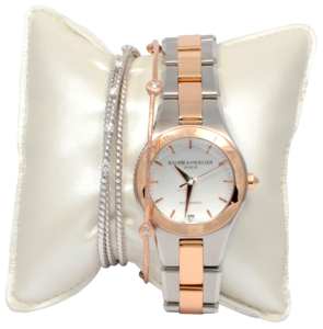 Ladies Baume & Mercier Watch with Diamond Bracelets