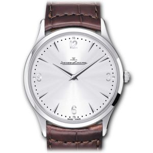 Jaeger LeCoultre Master Ultra Thin 38 Mens Watch in Steel