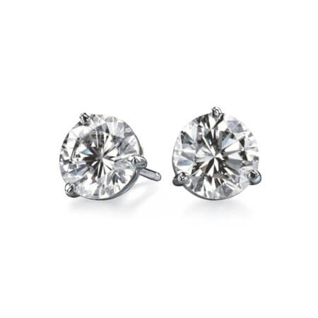 Diamond Stud Earrings MN
