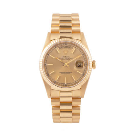 Rolex Day-Date pre-owned watch