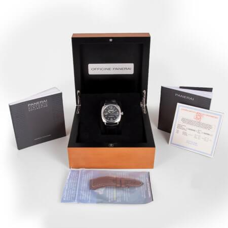 Panerai Radiomir Black Seal pre-owned watch